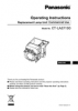 ET-LAEF100 Series Operating Instructions (English)