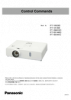 PT-VW360/VX430/BW410C/BX440C/BX441C RS-232C control spec (English/Chinese/Japanese) Asia & Oceania